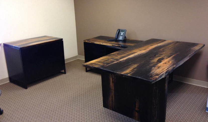 Office Floating Desk & Consoles