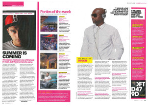 DJ UCH in Shortlist Magazine - Dubai