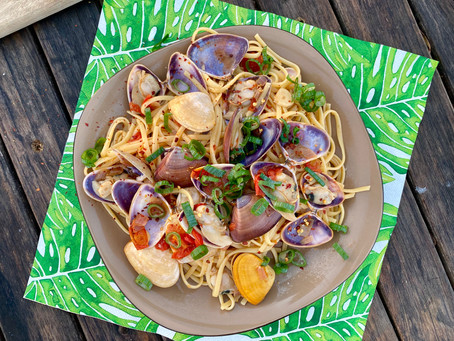 South Stradbroke Pipi Pasta