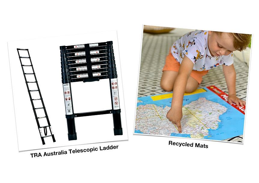 Telescopic Ladder & Recycled Mats.jpg