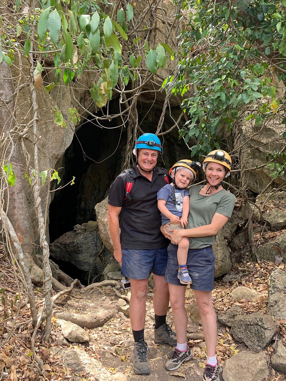 Capricorn Caves, Adventure, Caving, Family