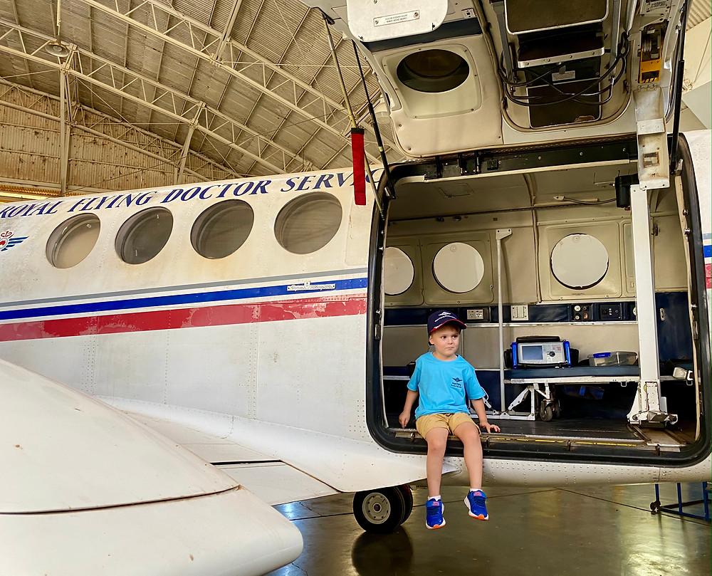 Royal Flying Doctors Aeroplane