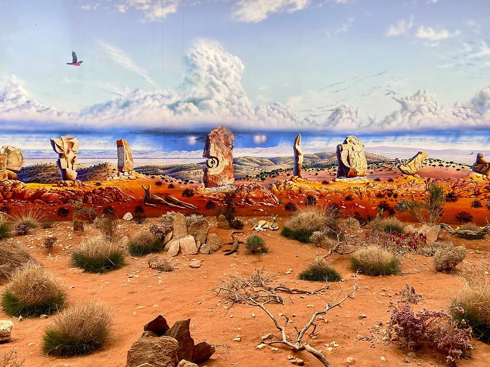 Artwork Desert Scenery