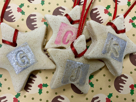 DIY Salt Dough Christmas Ornaments & Gift Tags