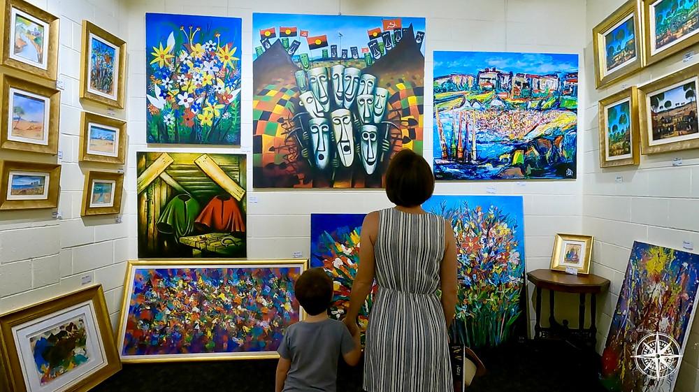 Paintings, Pro Hart, Artwork