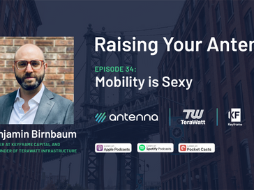 Podcast: Ben joins Raising Your Antenna with Keith Zakheim
