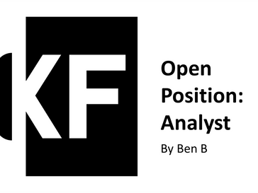 Open Role: Analyst
