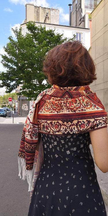 Châle foulard Persan