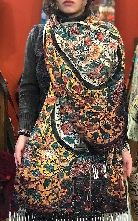 Châle foulard 40 morceaux Gol et Morgh
