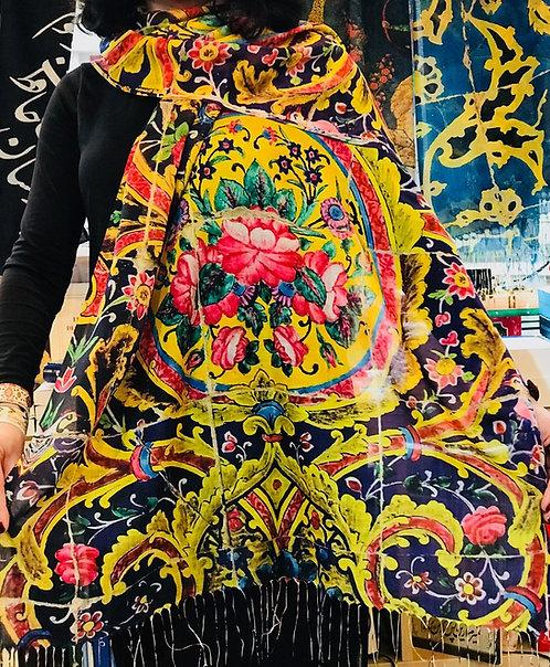 Châle foulard Céramique Gol o Goldoun