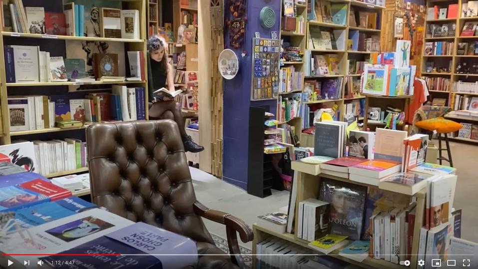Ahmad Chamlou à la librairie Perse en Poche