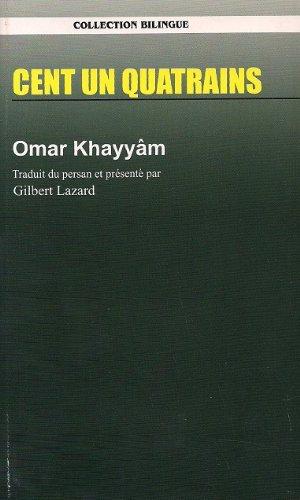 Cent un quatrains Omar Khayyam