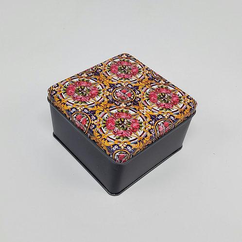 جعبه ی فلزی موتیف ایرانی