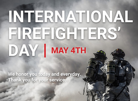 "We Say ""Mahalo"" on International Firefighters' Day"