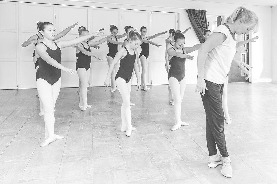 Dance Principal Teaching Pupils in Lesson