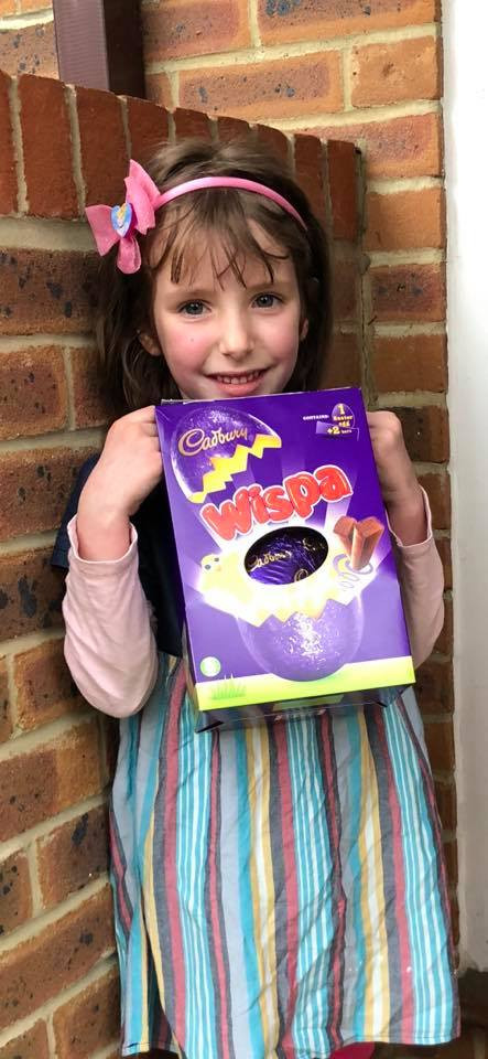Congratulations to Our Easter Egg Hunt Winner, Florence!