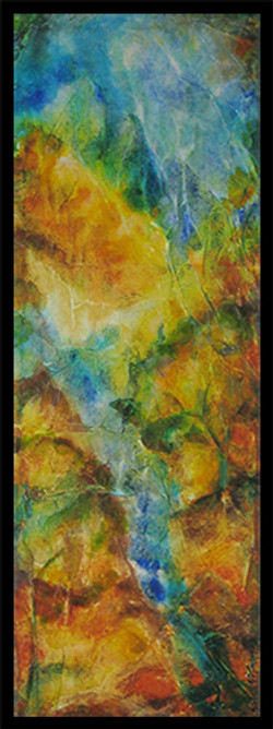 Ascension (Diptych-1) - Sold