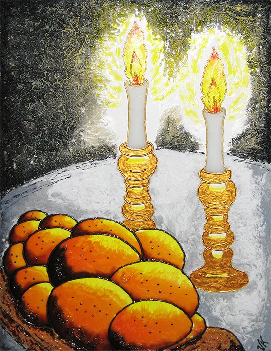 Shabbat Shalom - Sold