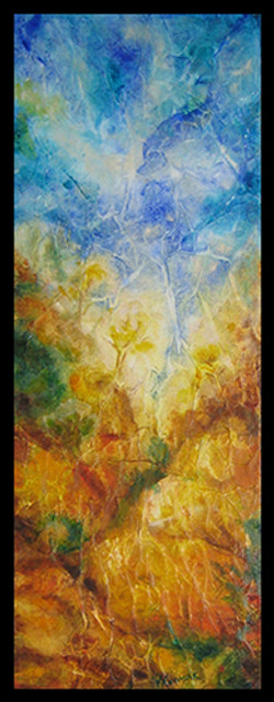 Ascension (Diptych-2) - Sold