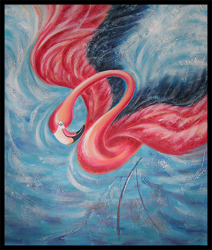 Flamingo - Sold at Auction