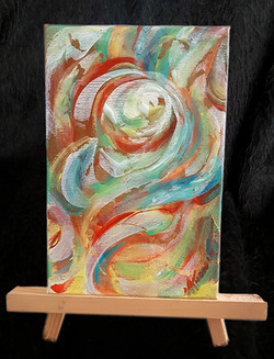 Spring - on easel