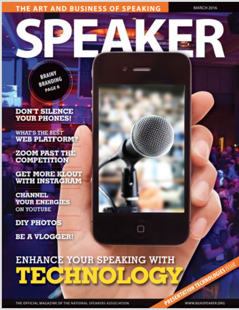 Speaker Magazine March 2016