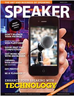 Speaker Magazine March 2016