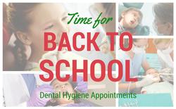 Back To School & Kids' Dental Visit