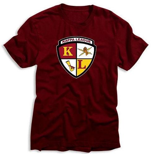 Kappa League T-shirt - Maroon