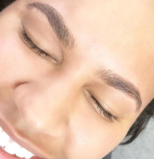 Clean brows + happy clients = ❤️_Happy F