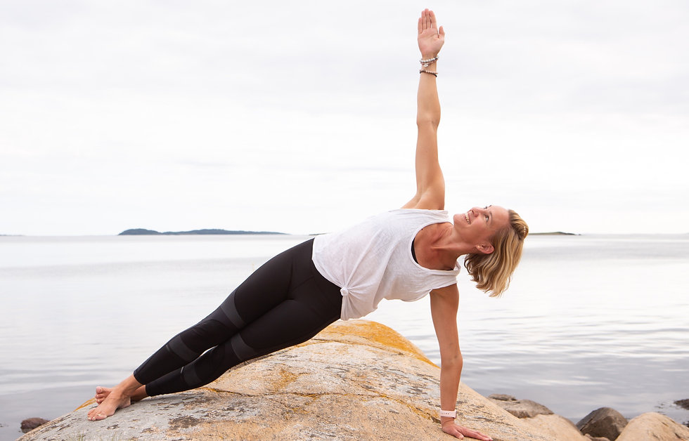 Pilates Guro sideplank Norway