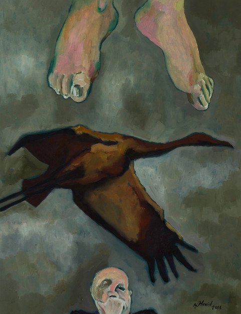 Hamid Pourbahrami | The Suspended Step of the Stork