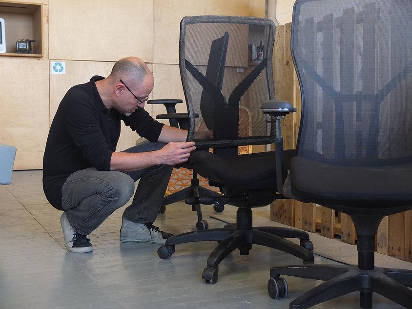Miles Keller designs furniture products