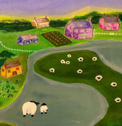 Ode to Sheep 3 - Sold