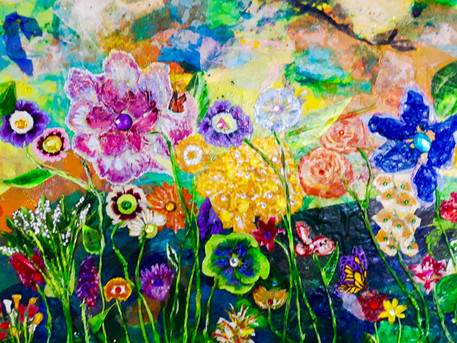 Faerie Flowers - Sold