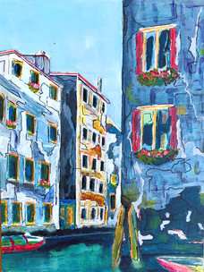 Venice Canal - SOLD