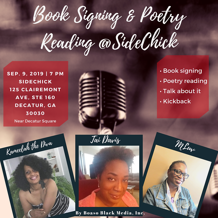 Book Signing & Poetry Reading