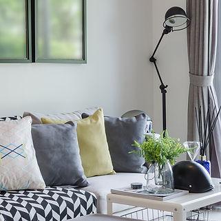 Cushions on the Sofa