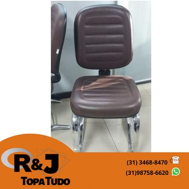 Cadeira fixa escritório R$250