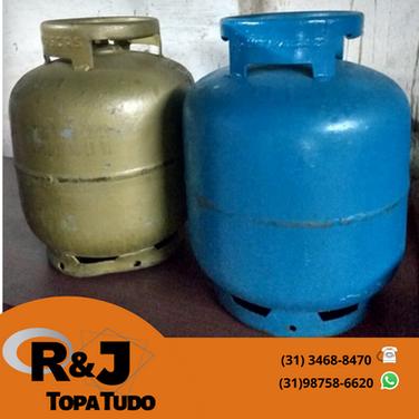 botijão gás R$120