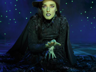 Standing by for Elphaba