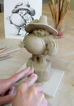 Sculpture en progression