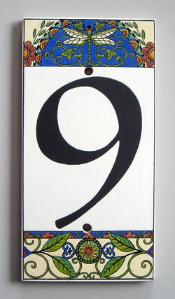 Plaque / Numéro de maison