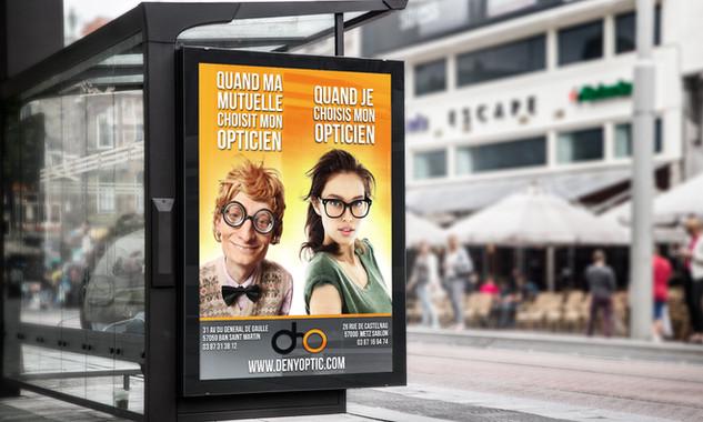 Affiche Deny Optic