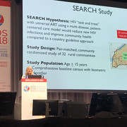 SEARCH Results Presented at 2018 AIDS Conference