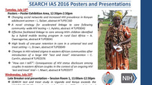 SEARCH represented at the 21st International AIDS Conference in Durban, South Africa