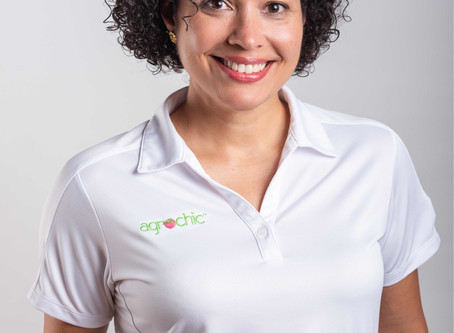 Meet Perla Sofía Curbelo Santiago M.C., HTC, Founder of Agrochic.com and Agricultural Communicator