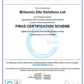 FIRAS approved contractor