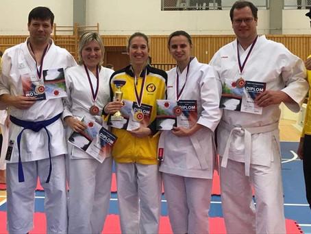 Senioři v Kladně jsou mistry ČR v karate
