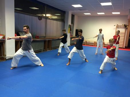 Soustředění karate - trailer